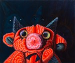 """The Evil Dead: RUDI"" Öl auf Lwd, 110 x 130cm, 2014, Privatsammlung HH"