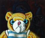 """The Evil Dead: Cedric"" Öl auf Lwd, 110 x 130cm, 2014, Privatsammlung D"