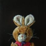 """Carola"" Öl auf Lwd, 20 x 20 cm, 2009, Privatsammlung"