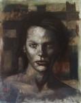 """""""o.T."""" Öl/Lwd, 40 x 50 cm, 2014"""