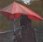 """""""November Regen"""" Öl/Lwd, 15 x 15 cm, 2013  /  Privatsammlung Berlin"""