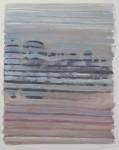 """6:21 a.m"" Öl/P, 53 x 54 cm, 2014"