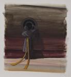"""Sieh mich"" Öl/P, 56 x 50 cm, 2014"