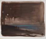 """Glück"" 40x50cm, Öl auf Papier, 2015"