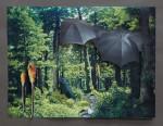 """Sonntag"" Collage auf Papier, ca. 25 x 35cm, 2012"