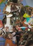 """""""Heim"""" Collage auf Papier, ca. 40 x 30cm, 2012"""