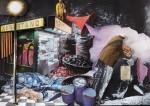 """""""Newsstand"""" Collage auf Papier, ca. 25 x 35cm, 2012"""