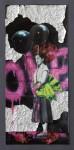 """One"" Collage auf Papier, ca. 45 x 28cm, 2012"