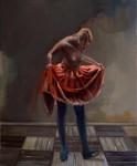 """""""Das Licht im Boden"""" 60x50cm, Öl auf Lwd, 2015"""