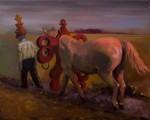 """""""o.T."""" (Nr.9) 40x50cm, Öl auf Lwd, 2015"""