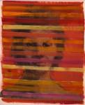 """""""o.T."""" (Nr.18) ca. 40x 50cm, Öl / Papier, 2015"""
