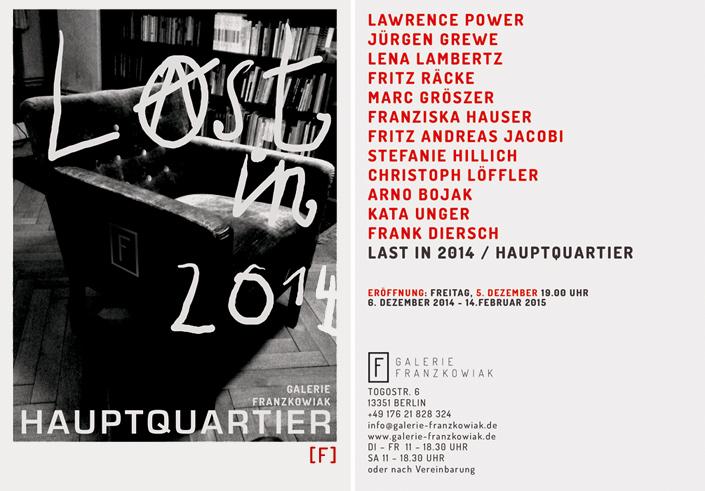 Galerie-Franzkowiak-Hautptquartier-Einladung