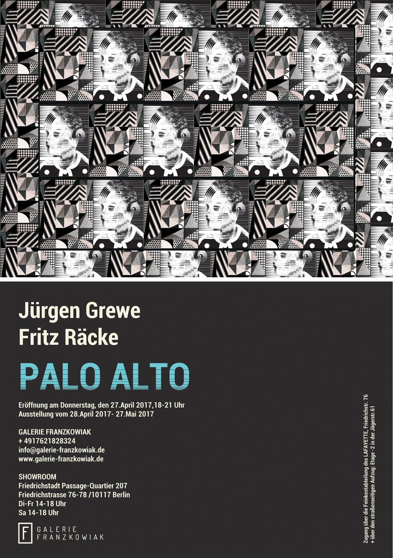 PALO ALTO - EINLADUNGSKARTE