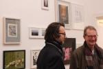 Galerist MF u. Fritz A. Jacobi / Foto © Nora Lina Merten