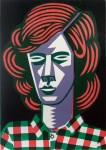 Red Hair; linol print ; 30 cm x 21 cm; Edition: 10 + 4 A.P; 2012