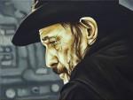"""""""Lemmy"""" 30 x 40cm, Öl-auf Lwd, 2016, Privatsammlung Berlin"""