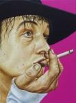"""""""Pete Doherty"""" 30x40cm, Öl auf Lwd, 2016"""