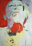 Monolog CXL III, MT auf Nessel, 210 x 147 cm, 2014