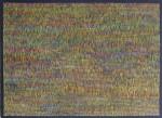 """""""Enough Said"""" Ölpastel auf Holz grundiert mit Schwarztafellack 125 x 175 cm, 2015"""