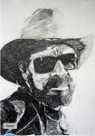 Mr. Hank Williams Jr., (detail Goodbye Is Half The Words You Know, 2008-2012)
