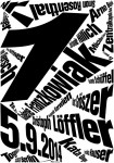 Plakat - Nr. 1 – GALERIE FRANZKOWIAK - Daniel Wiesmann