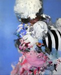 """GUM"", 180  x 150 cm, oil  on canvas, 2016"