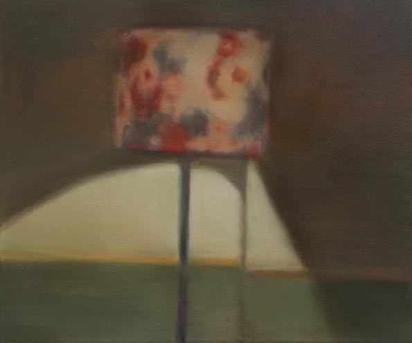 """""""Lampe 5"""" Peter Scior, Öl auf Lwd, 50 x 60cm, 2017 foto © agentur für fotografie"""